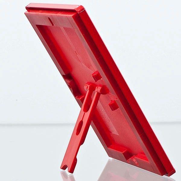 Klapprahmen Opti Frame Rot DIN A4 Postermaß br mit Rückenstütze 6