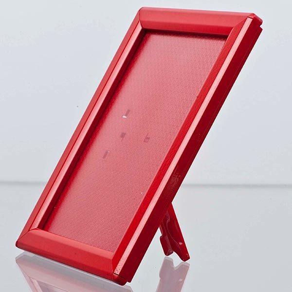 Klapprahmen Opti Frame Rot DIN A5 Postermaß br mit Rückenstütze 2