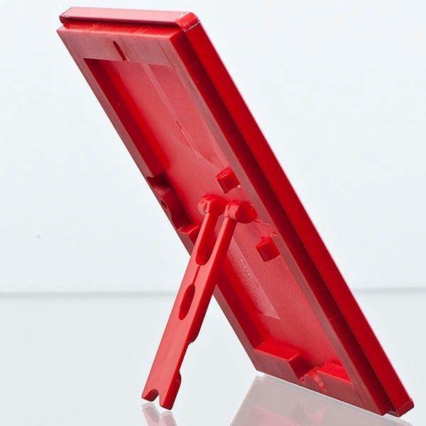 Klapprahmen Opti Frame Rot DIN A5 Postermaß br mit Rückenstütze 3