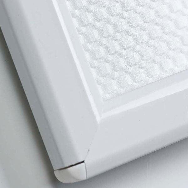 Klapprahmen Opti Frame Weiß DIN A4 Postermaß br mit Rückenstütze 3
