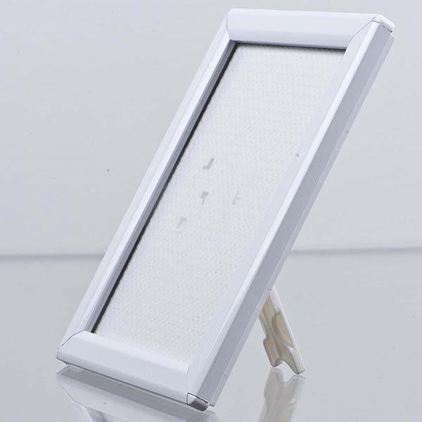 Klapprahmen Opti Frame Weiß DIN A5 Postermaß br mit Rückenstütze 1