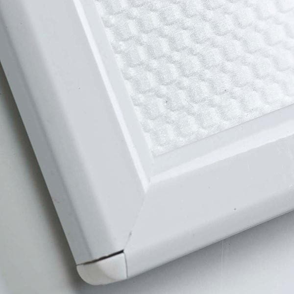 Klapprahmen Opti Frame Weiß DIN A5 Postermaß br mit Rückenstütze 3