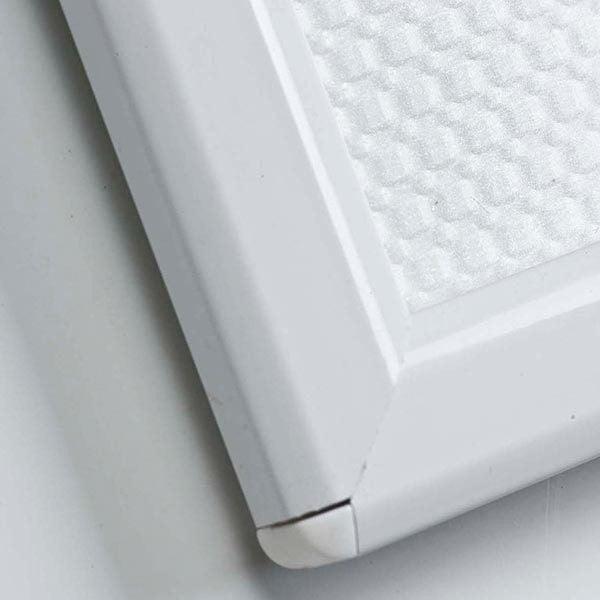 Klapprahmen Opti Frame Weiß DIN A6 Postermaß br mit Rückenstütze 3