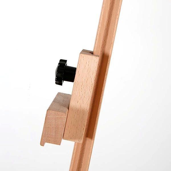 Klassische Holz Staffelei aus Buchenholz 3