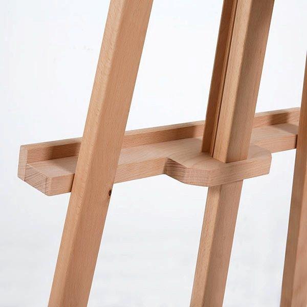 Klassische Holz Staffelei aus Buchenholz 4