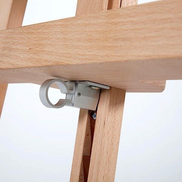 Klassische Holz Staffelei aus Buchenholz 9