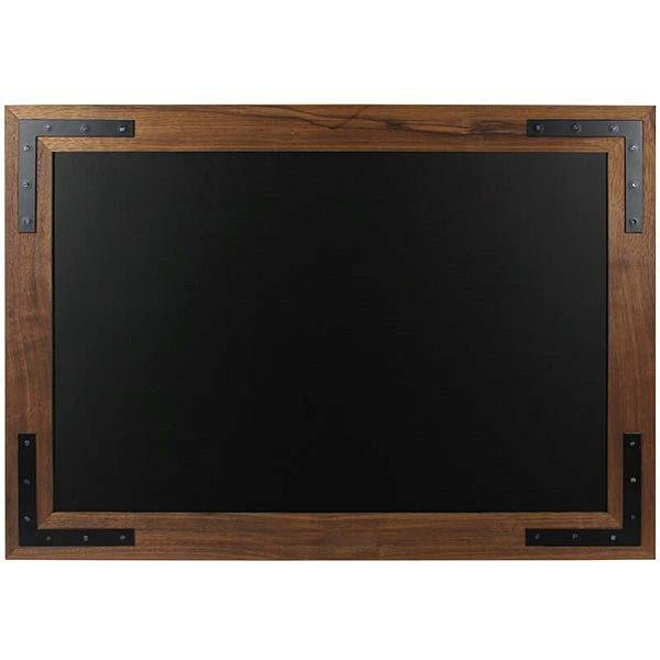 Kreidetafel Holz Noir 70x90 cm 1
