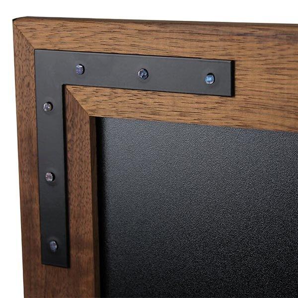 Kreidetafel Holz Noir 70x90 cm 4