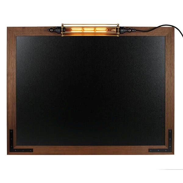 Kreidetafel Holz Noir LED 70x90 cm 1