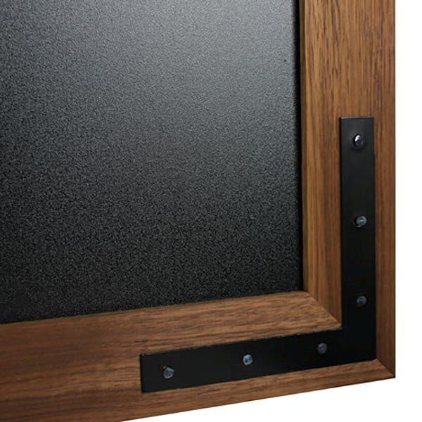 Kreidetafel Holz Noir LED 70x90 cm 5