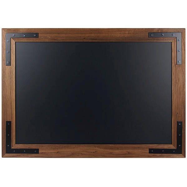 Kreidetafel Holz Noir magnetisch 40x50 cm 1
