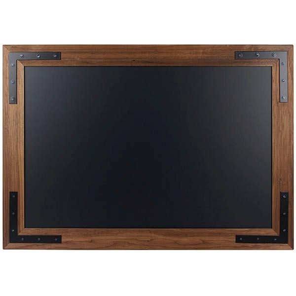 Kreidetafel Holz Noir magnetisch 50x70 cm 1