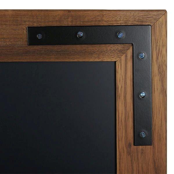 Kreidetafel Holz Noir magnetisch 70x90 cm 4