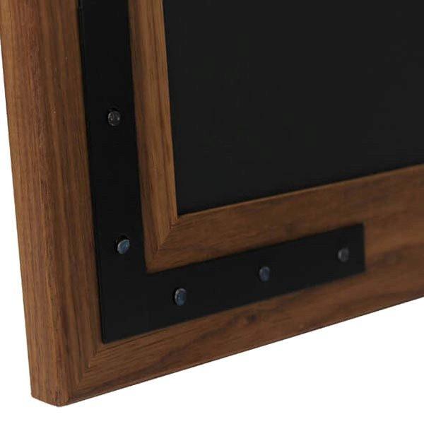 Kreidetafel Holz Noir magnetisch 70x90 cm 6