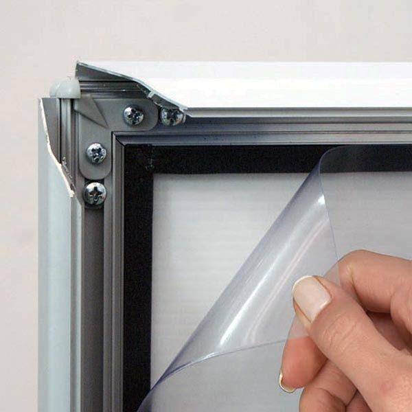 Kundenstopper Eco WindSign mit Kunststoff Fuß DIN A0 Postermaß 6