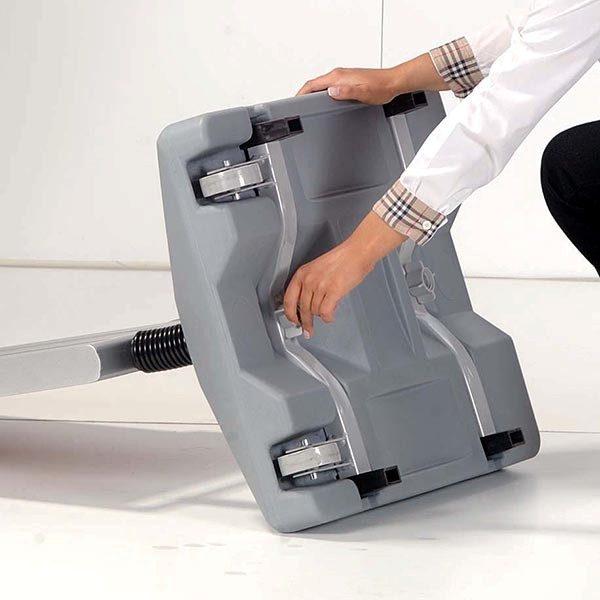 Kundenstopper Eco WindSign mit Kunststoff Fuß DIN B2 Postermaß 3
