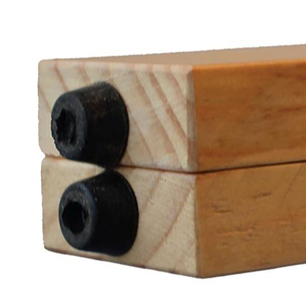 Kundenstopper Holz Buche 580 x 980 mm Schreibfläche 3