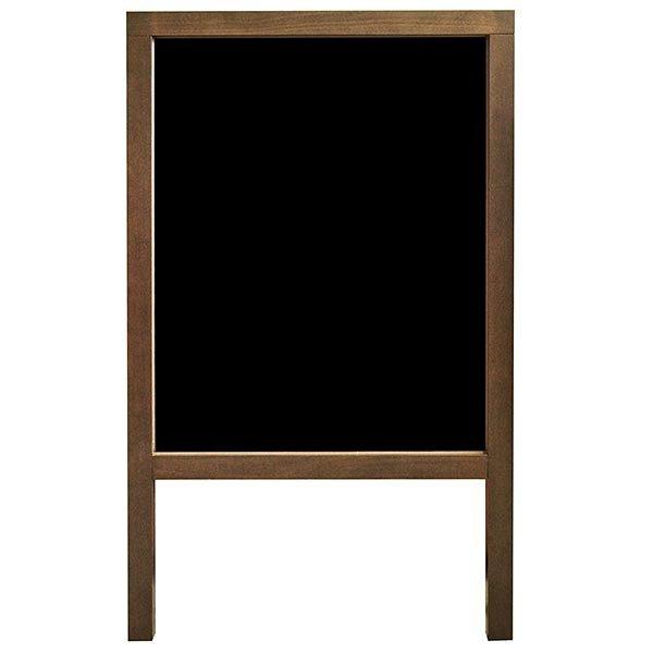 Kundenstopper Holz Buche wetterfest 520 x 650 mm Schreibfläche 1