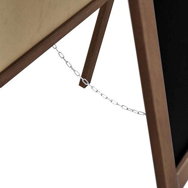 Kundenstopper Holz Kiefer 440 x 640 mm Schreibfläche 3