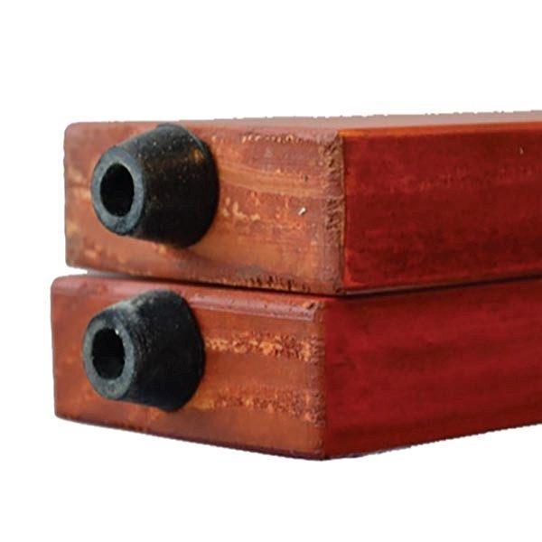 Kundenstopper Holz Mahagoni 580 x 980 mm Schreibfläche 3