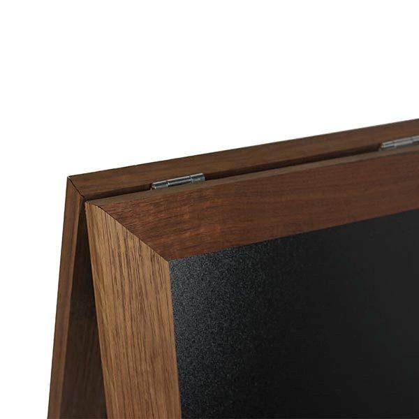 Kundenstopper Holz Mini Noir DIN A4 Tischaufsteller 2