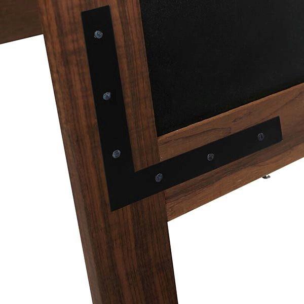 Kundenstopper Holz Noir 420 x 620 mm Schreibfläche 5