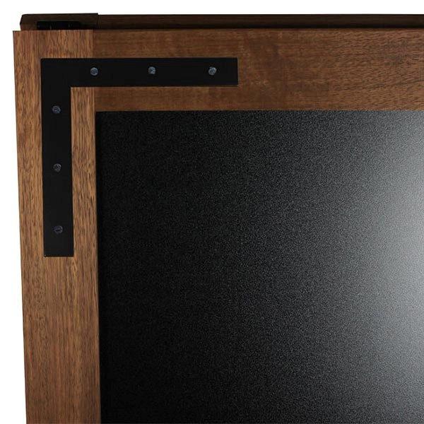 Kundenstopper Holz Noir 570 x 900 mm Schreibfläche 3