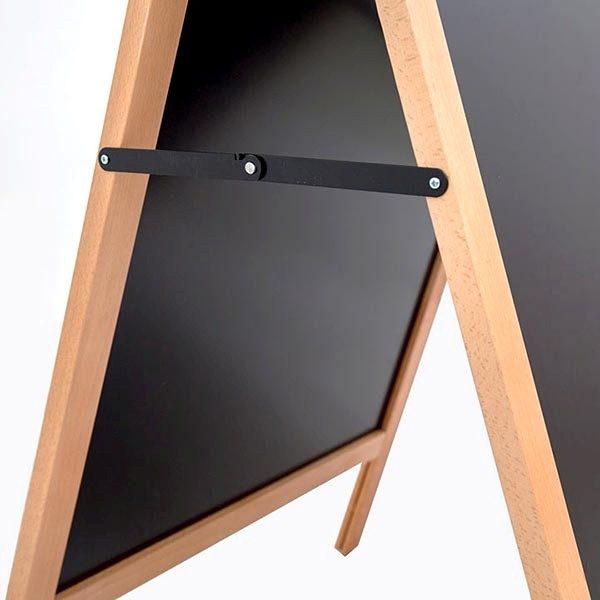 Kundenstopper Holz Standard für den Außenbereich 600 x 780 mm Schreibfläche 4