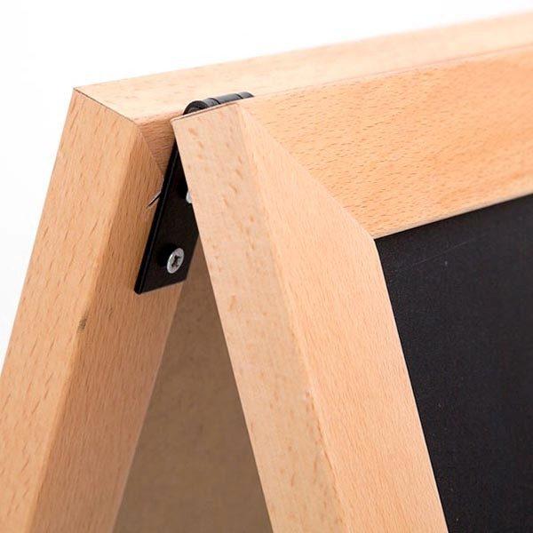 Kundenstopper Holz Standard für den Innenbereich 600 x 780 mm Schreibfläche 2