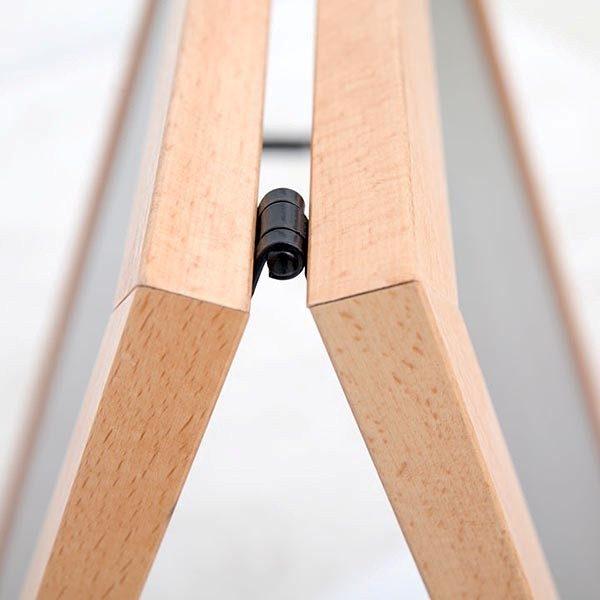 Kundenstopper Holz Standard für den Innenbereich 600 x 780 mm Schreibfläche 3