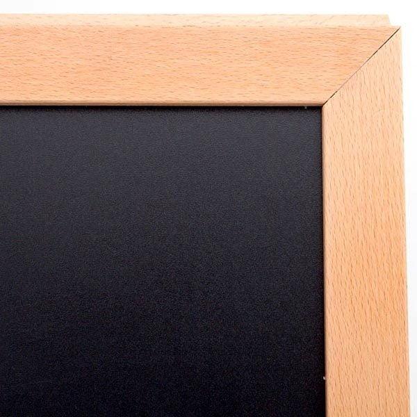 Kundenstopper Holz Standard für den Innenbereich 600 x 780 mm Schreibfläche 4