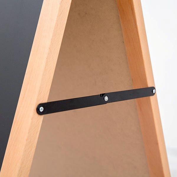 Kundenstopper Holz Standard für den Innenbereich 600 x 780 mm Schreibfläche 5