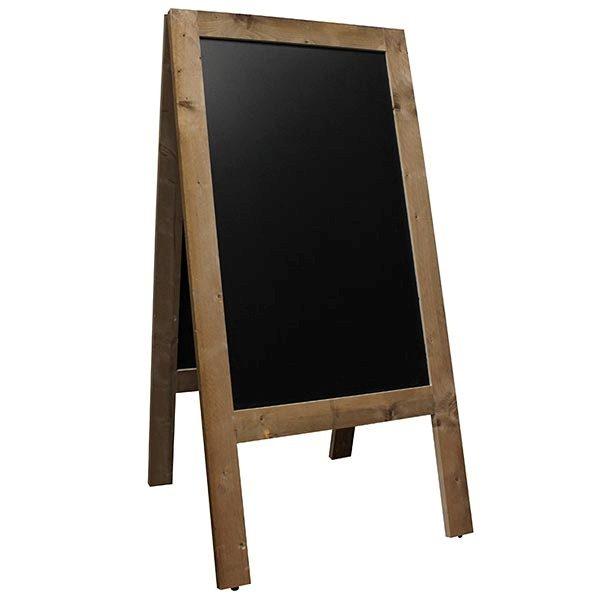Kundenstopper Holz Vintage 560 x 900 mm Schreibfläche 1