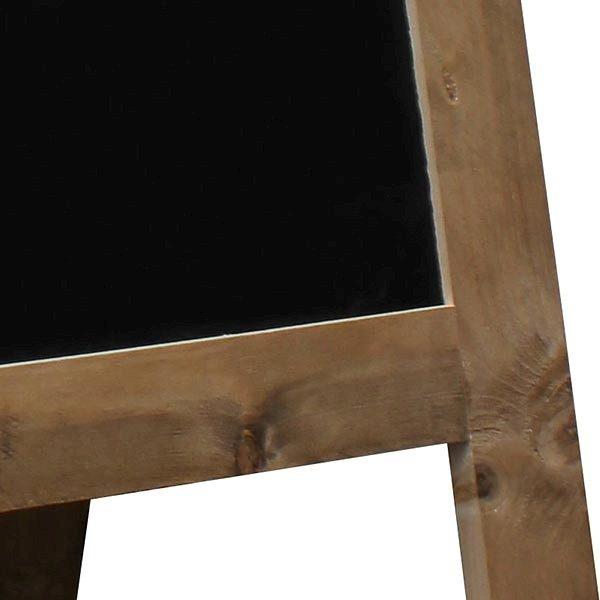 Kundenstopper Holz Vintage 560 x 900 mm Schreibfläche 2