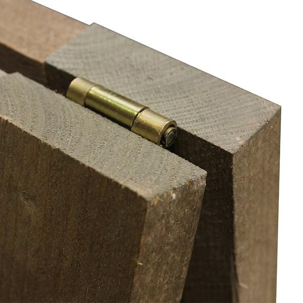 Kundenstopper Holz Vintage 560 x 900 mm Schreibfläche 4