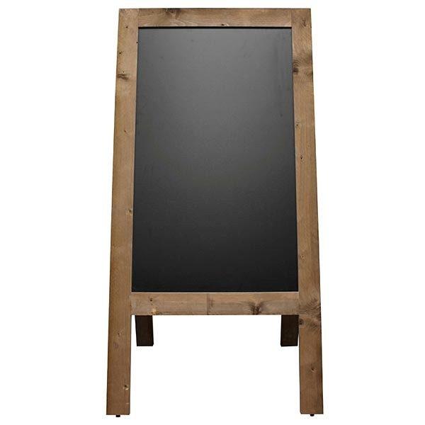 Kundenstopper Holz XXL 715 x 1205 mm Schreibfläche 1