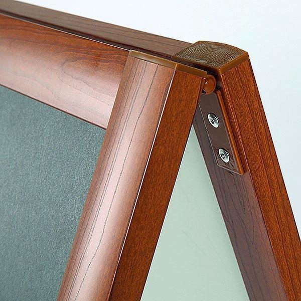 Kundenstopper Holzoptik 600 x 800 mm Schreiboberfläche 1