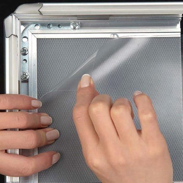 Kundenstopper Indoor 32mm DIN B2 Postermaß 2