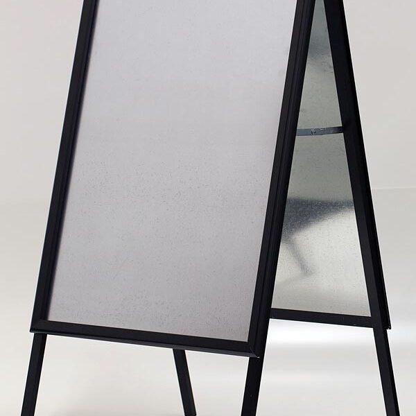 Kundenstopper Indoor 32mm schwarz DIN A1 Postermaß 1