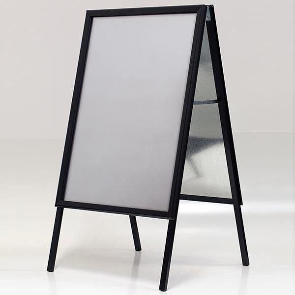 Kundenstopper Indoor 32mm schwarz DIN B1 Postermaß 1