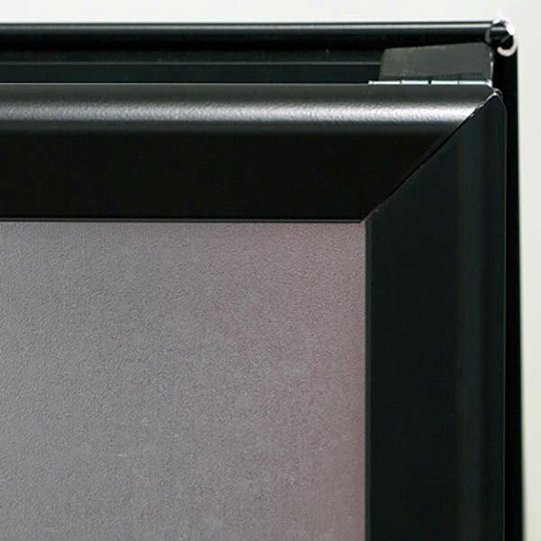 Kundenstopper Indoor 32mm schwarz DIN B2 Postermaß 3