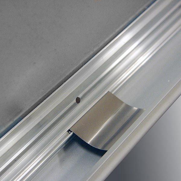 Kundenstopper Indoor Rondo 32mm DIN A2 Postermaß 2