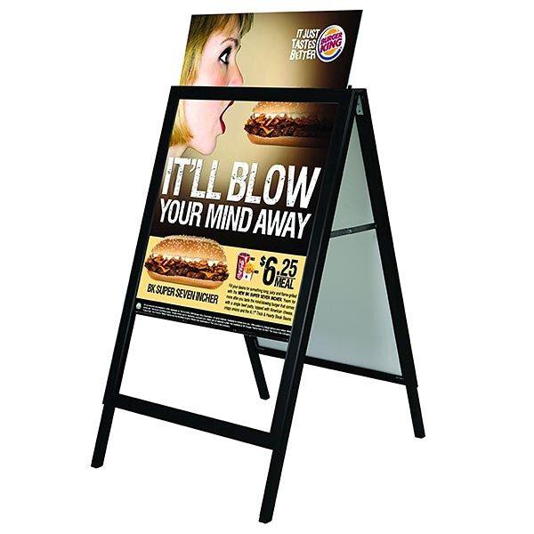 Kundenstopper Slide In DIN A1 Postermaß 1 1