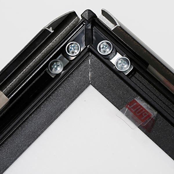 Kundenstopper WindPro Slim schwarz DIN A1 Postermaß 1