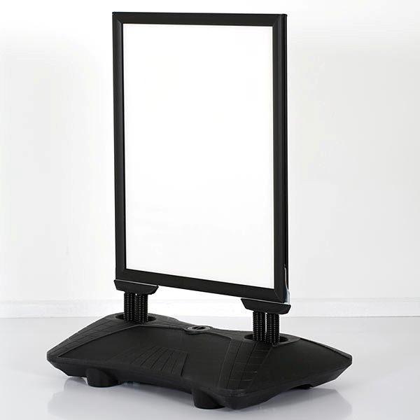 Kundenstopper WindPro Slim schwarz DIN A1 Postermaß 3