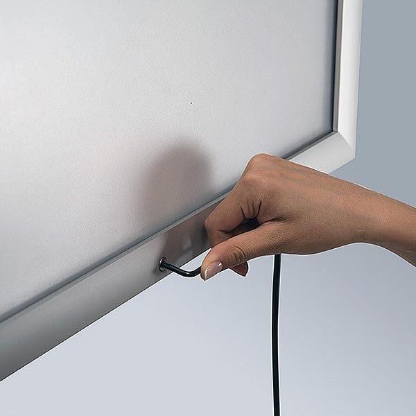 LED Leuchtrahmen Premium Outdoor 35mm DIN A0 Postermaß einseitig 5