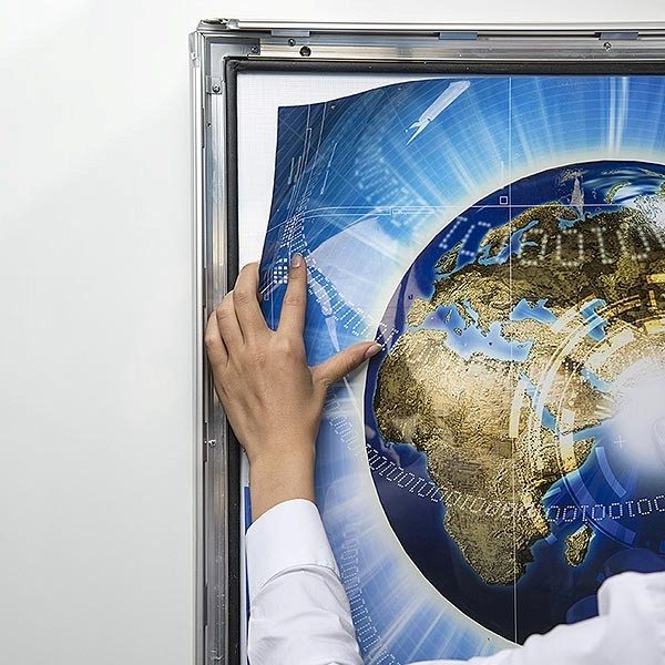 LED Leuchtrahmen Premium Outdoor 35mm DIN A0 Postermaß einseitig 7