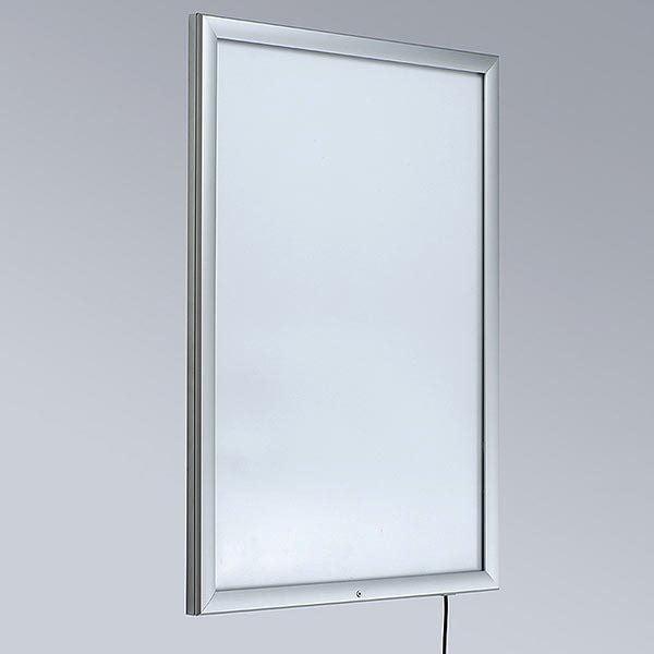 LED Leuchtrahmen Premium Outdoor 35mm DIN A4 Postermaß einseitig 3