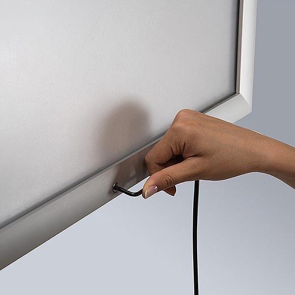 LED Leuchtrahmen Premium Outdoor 35mm DIN A4 Postermaß einseitig 5