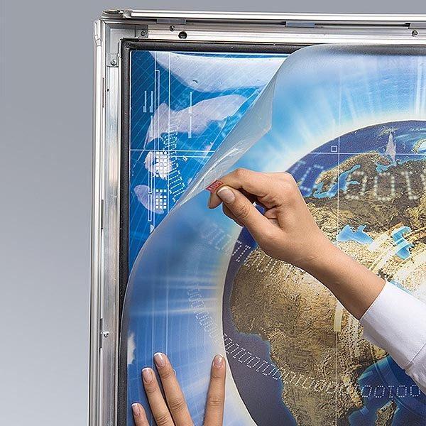 LED Leuchtrahmen Premium Outdoor 35mm DIN A4 Postermaß einseitig 8
